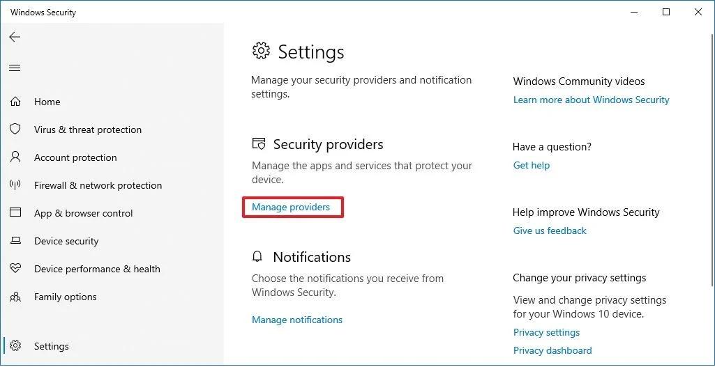 Cách tắt vĩnh viễn Microsoft Defender Antivirus trên Windows 10
