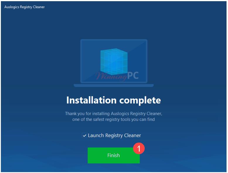 Miễn phí 1 năm phần mềm Auslogics Registry Cleaner Pro