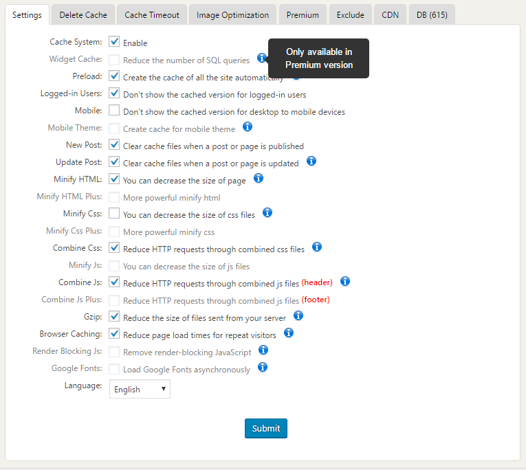 WP Fastest Cache - Plugin cache tốt nhất cho WordPress