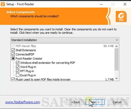 cài đặt foxit reader-B5_result