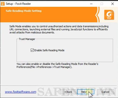 cài đặt foxit reader-B7_result