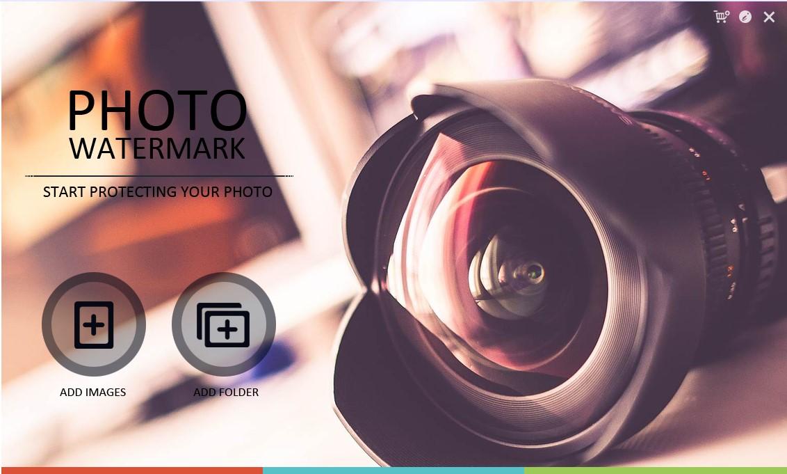 Giao Diện Phần Mềm Watermark Software