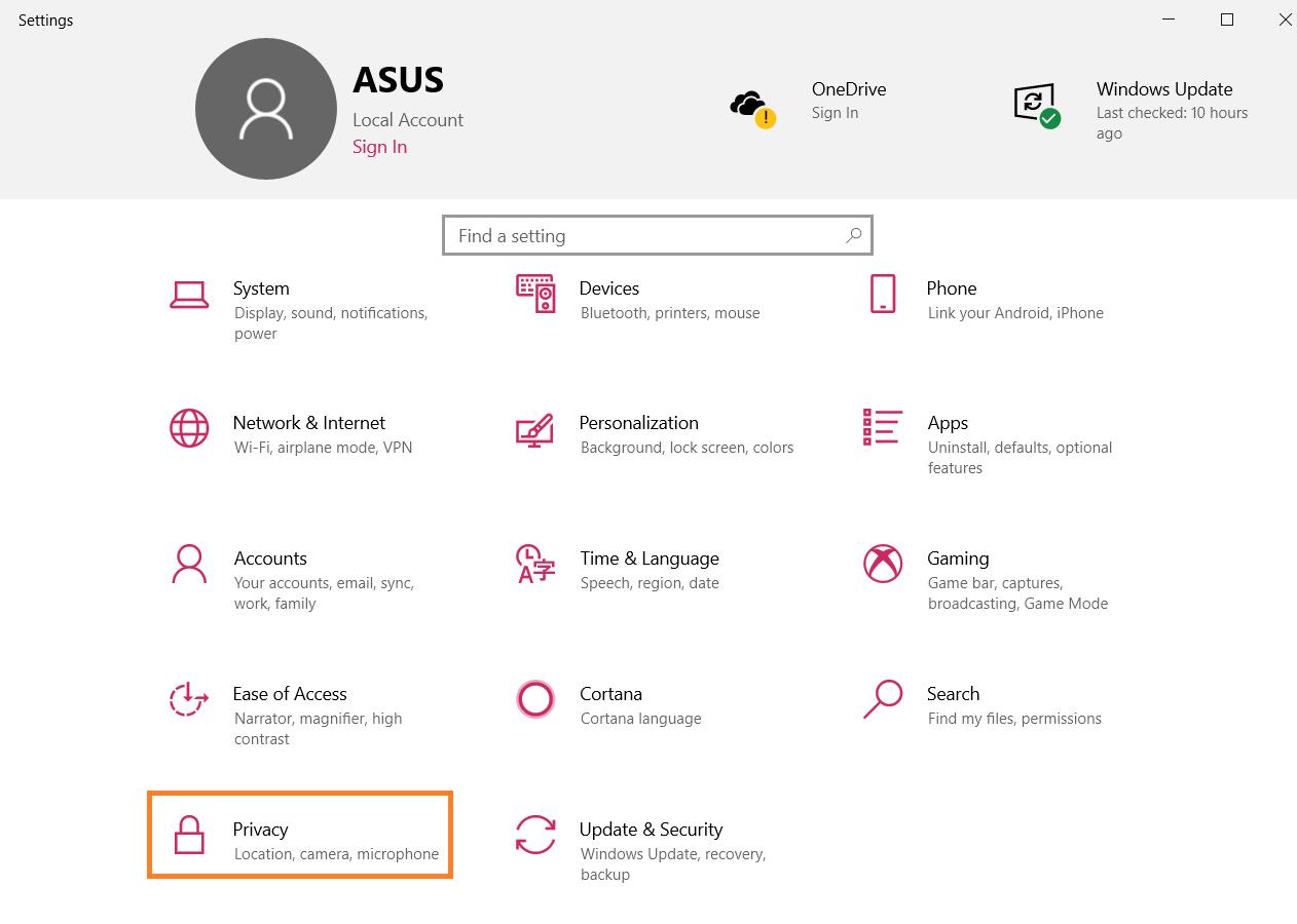Cách chặn các ứng dụng chạy trong nền trên Windows 10