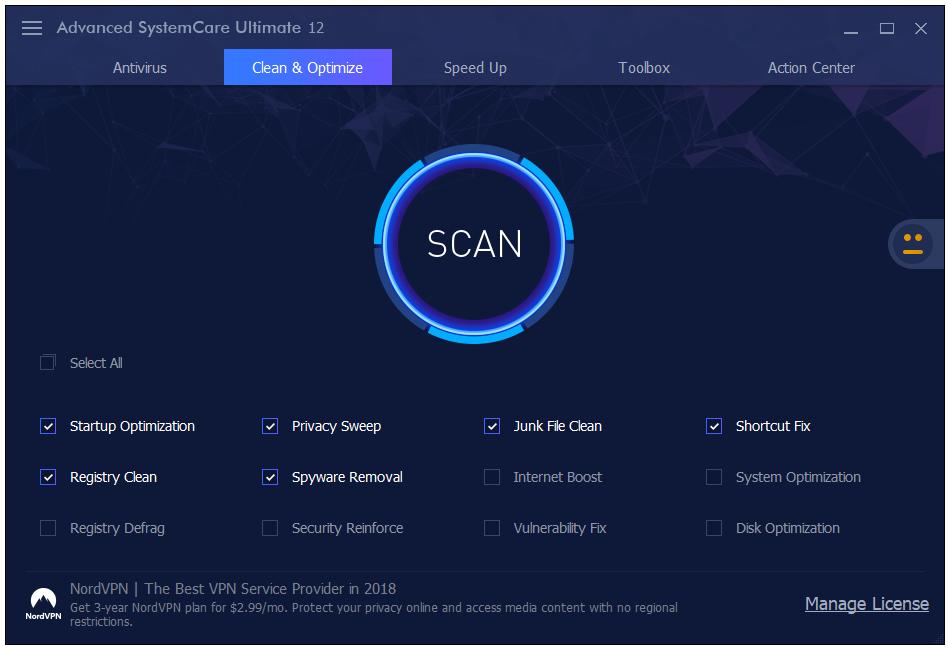 Phần mềm advanced systemcare ultimate