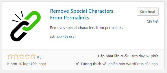 Plugin Remove Special Characters From Permalinks