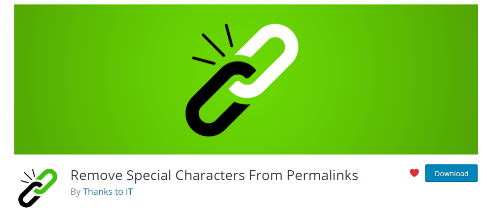 Remove Special Characters From Permalinks