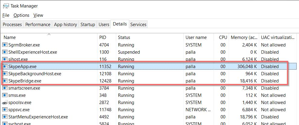 Cách ngăn Skype khởi động cùng Windows 10