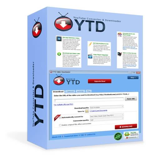 DownloadYTD Video Downloader Pro 5miễn phí