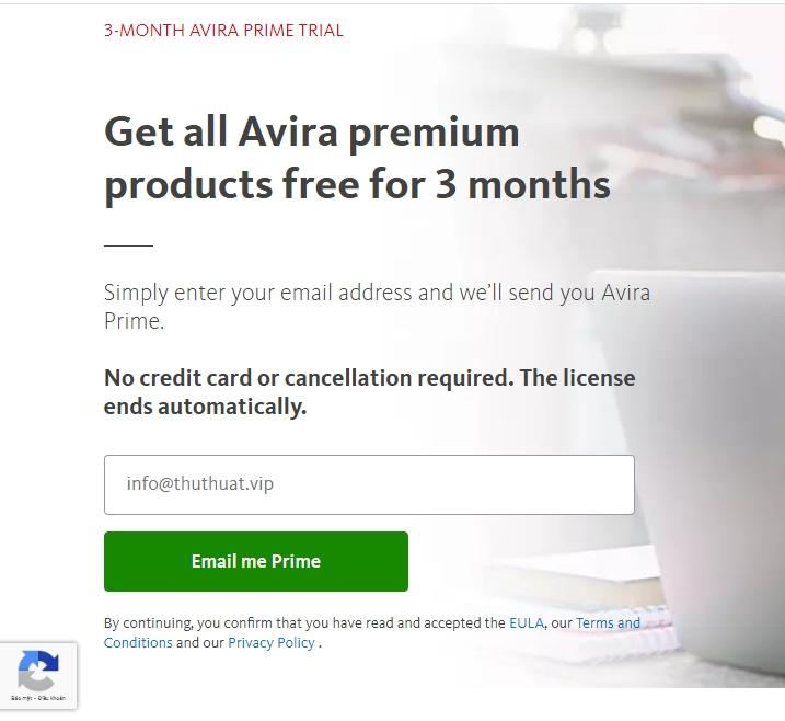 Miễn phí 3 tháng phần mềm ẩn IP – Avira Phantom VPN Pro