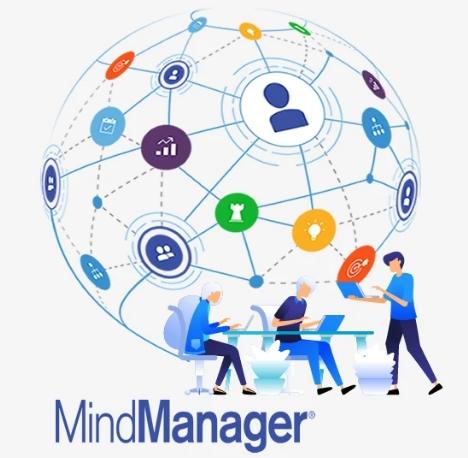 Miễn phí phần mềm vẽ sơ đồ tư duy MindManager 2021