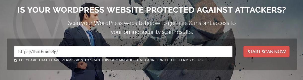 Công cụ kiểm tra malware, mã độc trên website sử dụng WordPress