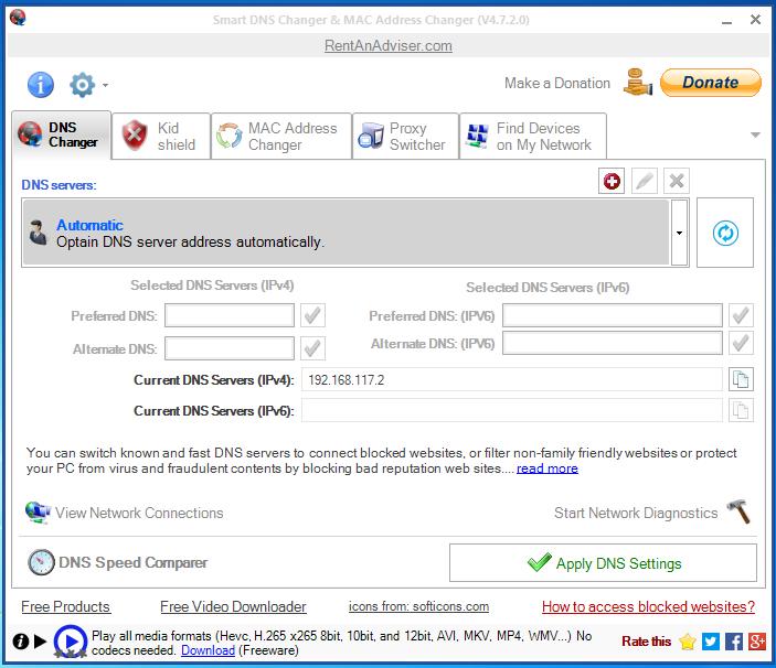 Các tiện ích giúp thay đổi DNS trên Windows nhanh chóng
